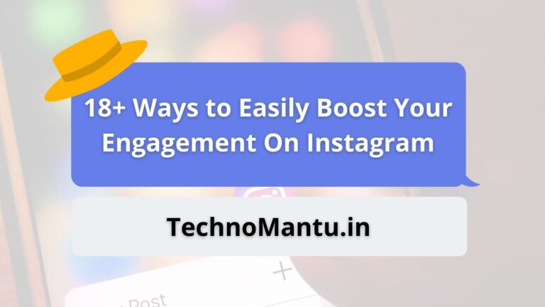 Boost Your Engagement On Instagram