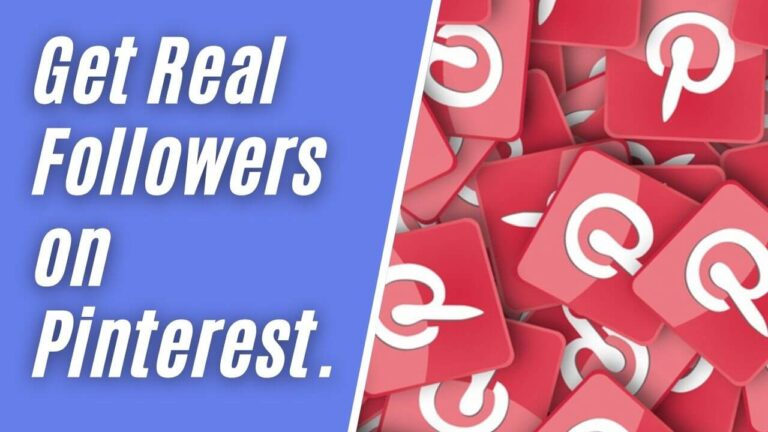 Get Real Followers on Pinterest