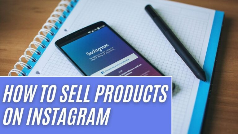 Sell Products On Instagram