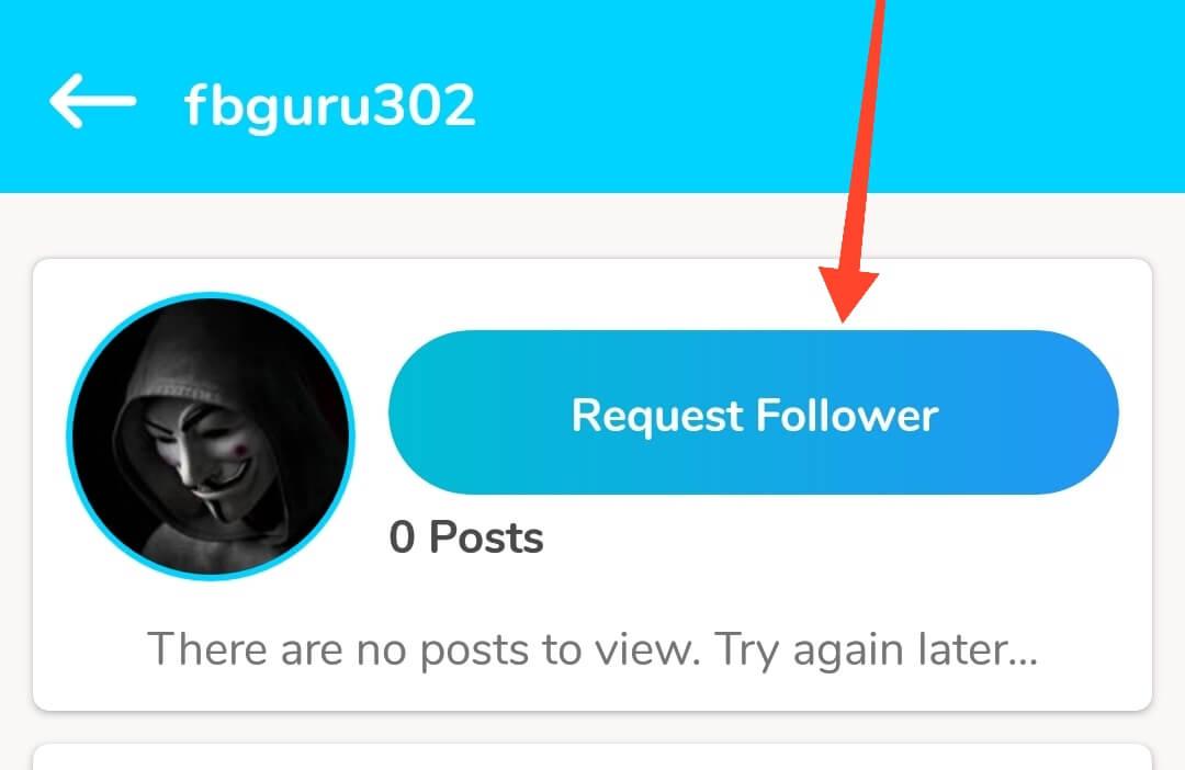 Request Follower