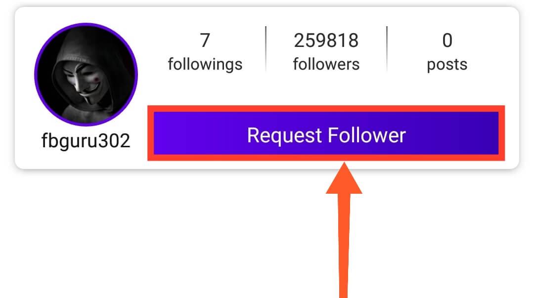 Request Followers